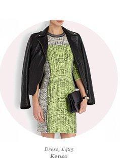 Dress, £425 Kenzo