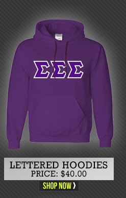 Lettered Hoodies