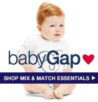 babyGap | SHOP MIX & MATCH ESSENTIALS