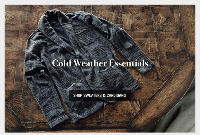 Cold Weather Essentials - Shop Sweaters & Cardigans