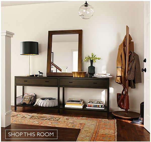 Entryway with Berkeley Console Table