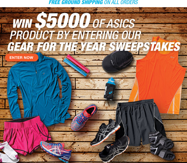 Enter our Gear for the Year Sweepstakes