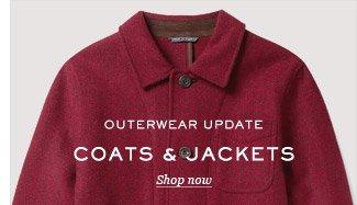 Outerwear Update: Coats & Jackets. Shop now