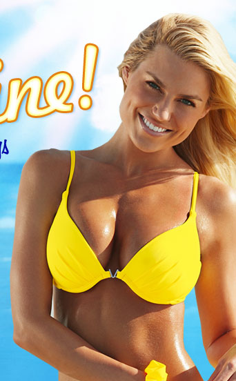 Get Ready for warmer weather with our brightest colors! SHOP Sunny Yellow Collection
