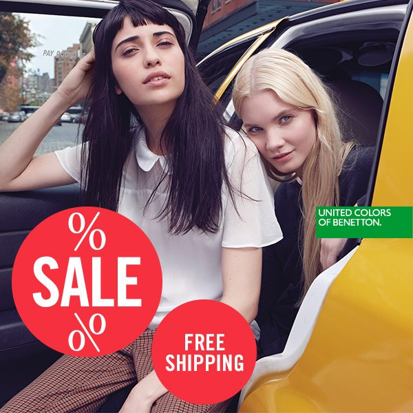 BENETTON SALE AND FREESHIPPING