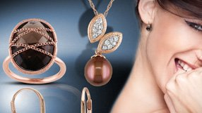 Pearls and Chocolate Colored Jewelry