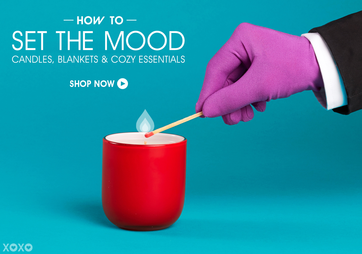 How To Set The Mood. Shop Candles, Blankets & Cozy Essentials.