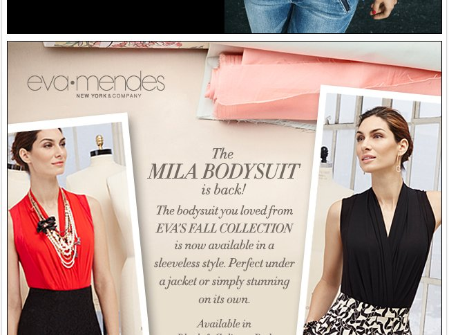 The Eva Mendes Collection Mila Bodysuit is Back!