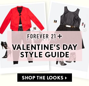 Forever 21 Plus: Valentine's Day Style Guide