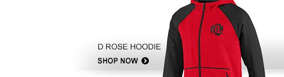 Shop Men's D Rose Hoodie »