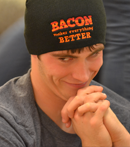 Bacon Makes Better Hat