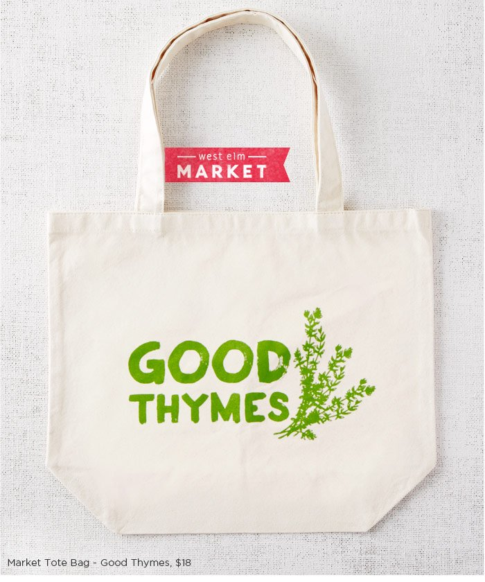 Market Tote Bag - Good Thymes