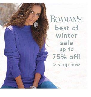 Shop Roaman's Best of Winter sale