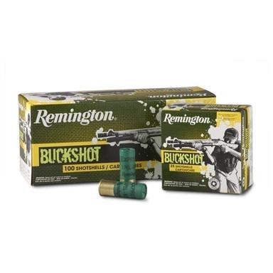 "200 rounds Remington® Express® 12 Gauge 2 3/4"" Buckshot 9 Pellet ""00"" Ammo"