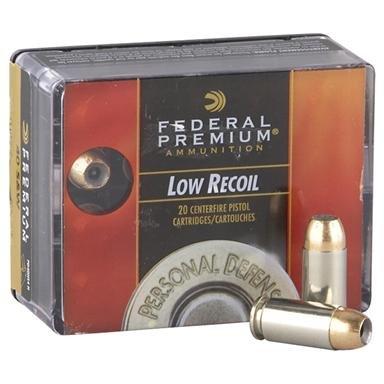 Federal® Premium® Personal Defense .45 ACP 165 Grain HSJHP 20 rounds