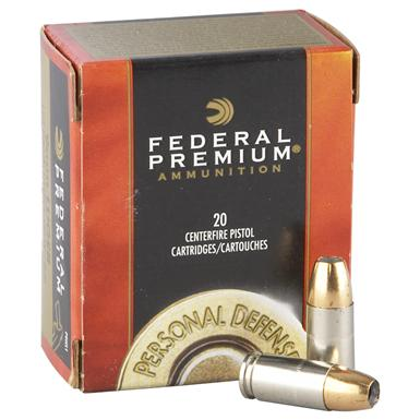 Federal® Premium® Hydra-Shok® .45 Auto 230 Grain HSJHP 20 rounds