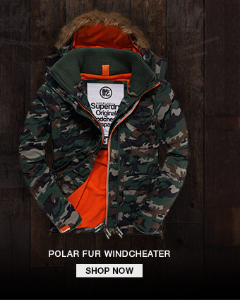 polar fur windcheater