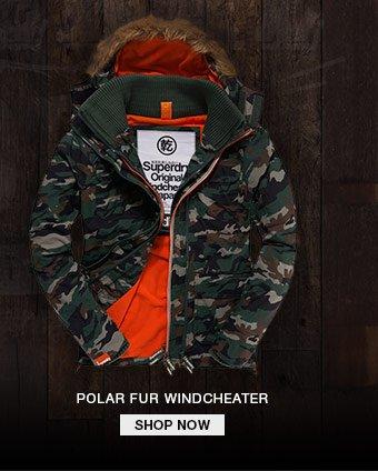 polar fur windcheater