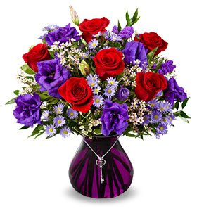 Key to My Heart® Same-Day Local Florist Delivery Shop Now
