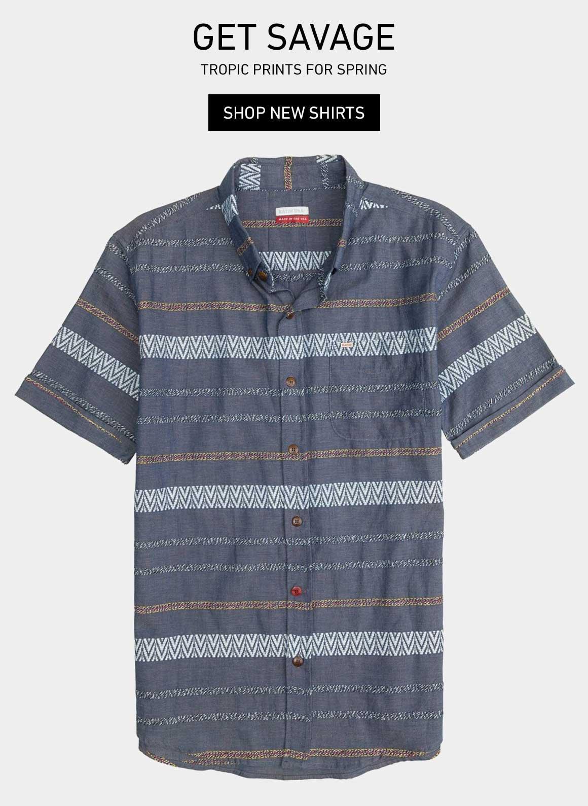 Get Savage: New Shirts
