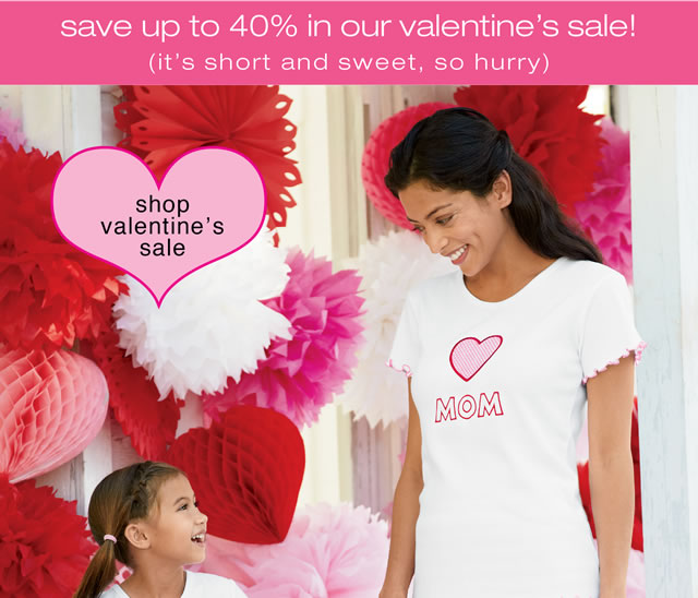 shop valentine's sale