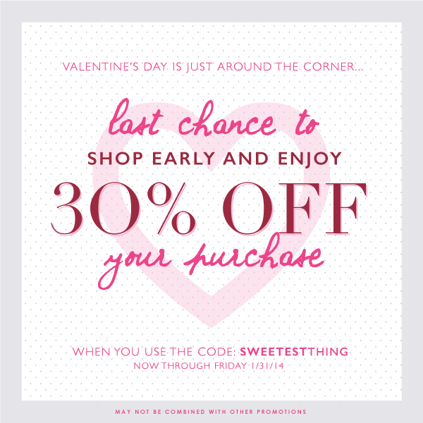 Last Chance for Early Savings | 30% Site Wide