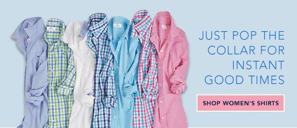 women spring shirts