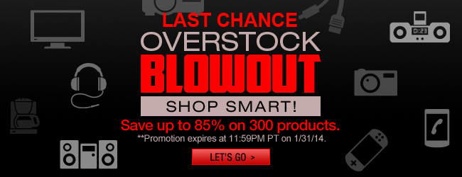 Overstock Blowout