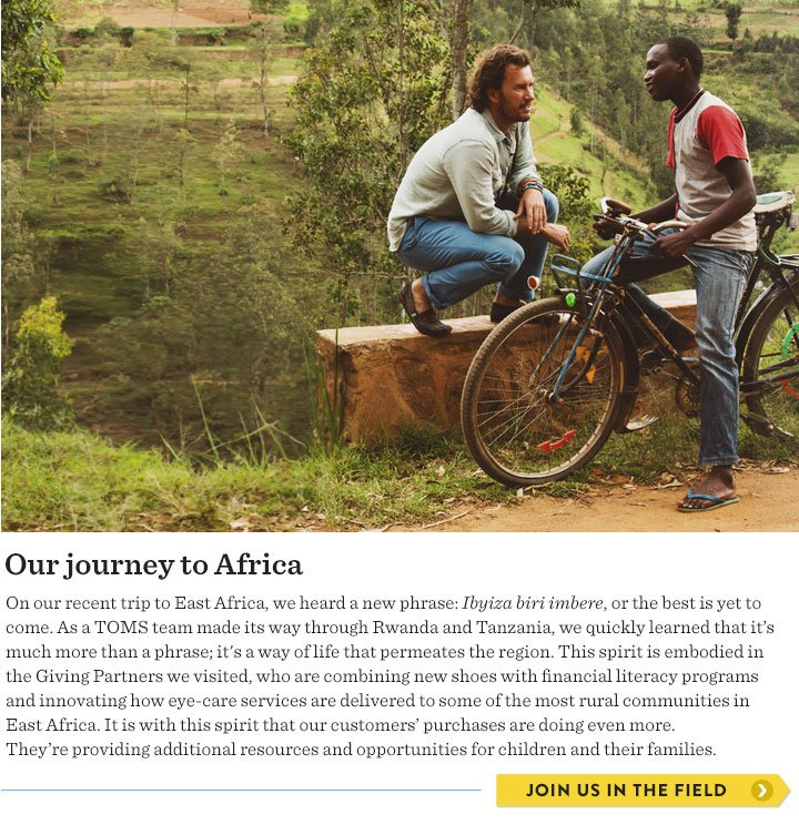 Our journey to Africa - join us in the field