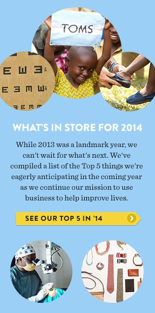 What's in store for 2014 - see our top 5 in '14