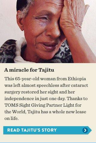 A miracle for Tajitu - read the story