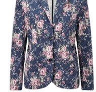 Buy the Twill Printed Jacket