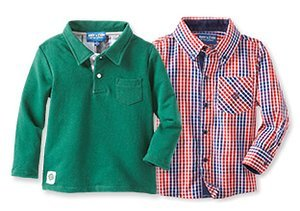 Perfectly Preppy: Polos & Button-Ups