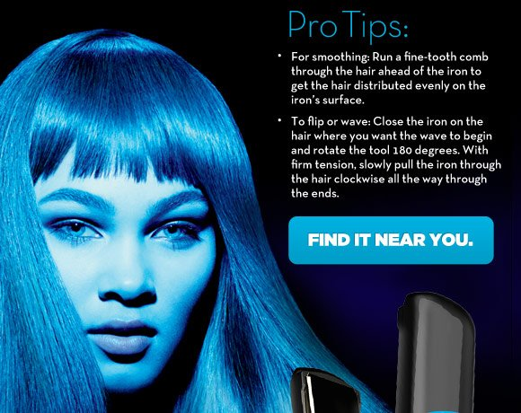 STYLE LIKE A PRO. The Neuro Smooth features SmartSense technology and premium IsoTherm titanium plates to create perfect smoothing, flips and waves.