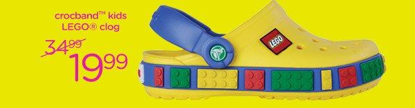 crocband kids LEGO clog