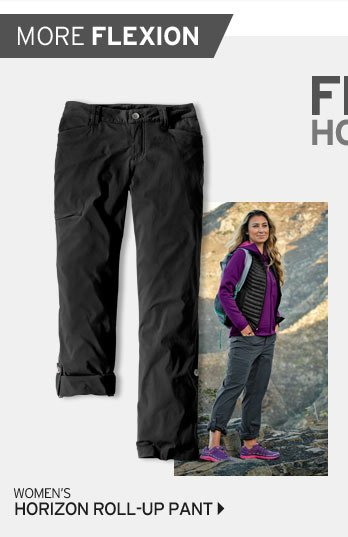 Women's Horizon Roll Up Pant