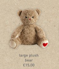 large plush bear