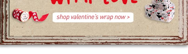 valentines wrapping paper