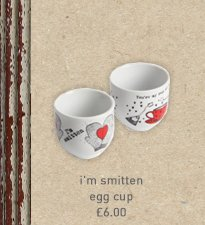 i'm smitten egg cup