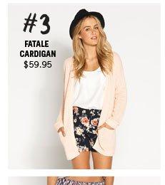 Fatale Cardigan $59.95