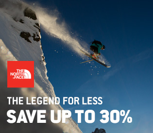 The North Face Sale—Up to 30% Off
