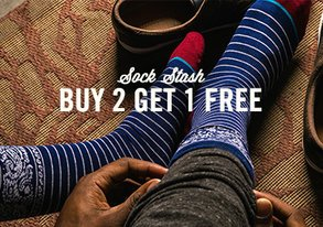 Shop Sock Stash: Buy 2 Get 1 Free