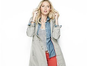Spring Ahead: Jackets & Trenches
