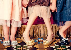 Girls' Flats Up to 80% Off