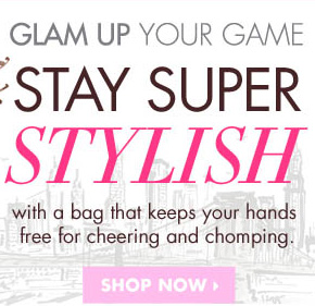GLAM UP YOUR GAME. SHOP NOW›