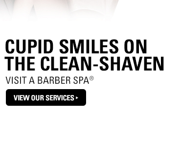 Cupid Smiles on the Clean-Shaven:  Visit a Barber Spa