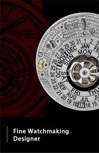 Fine Watchmaking Designer