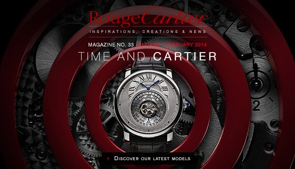 TIME AND CARTIER - DISCOVER OUR LATEST MODELS