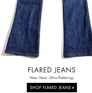 SHOP FLARED JEANS