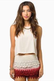Les Sisters Lace Shorts 29